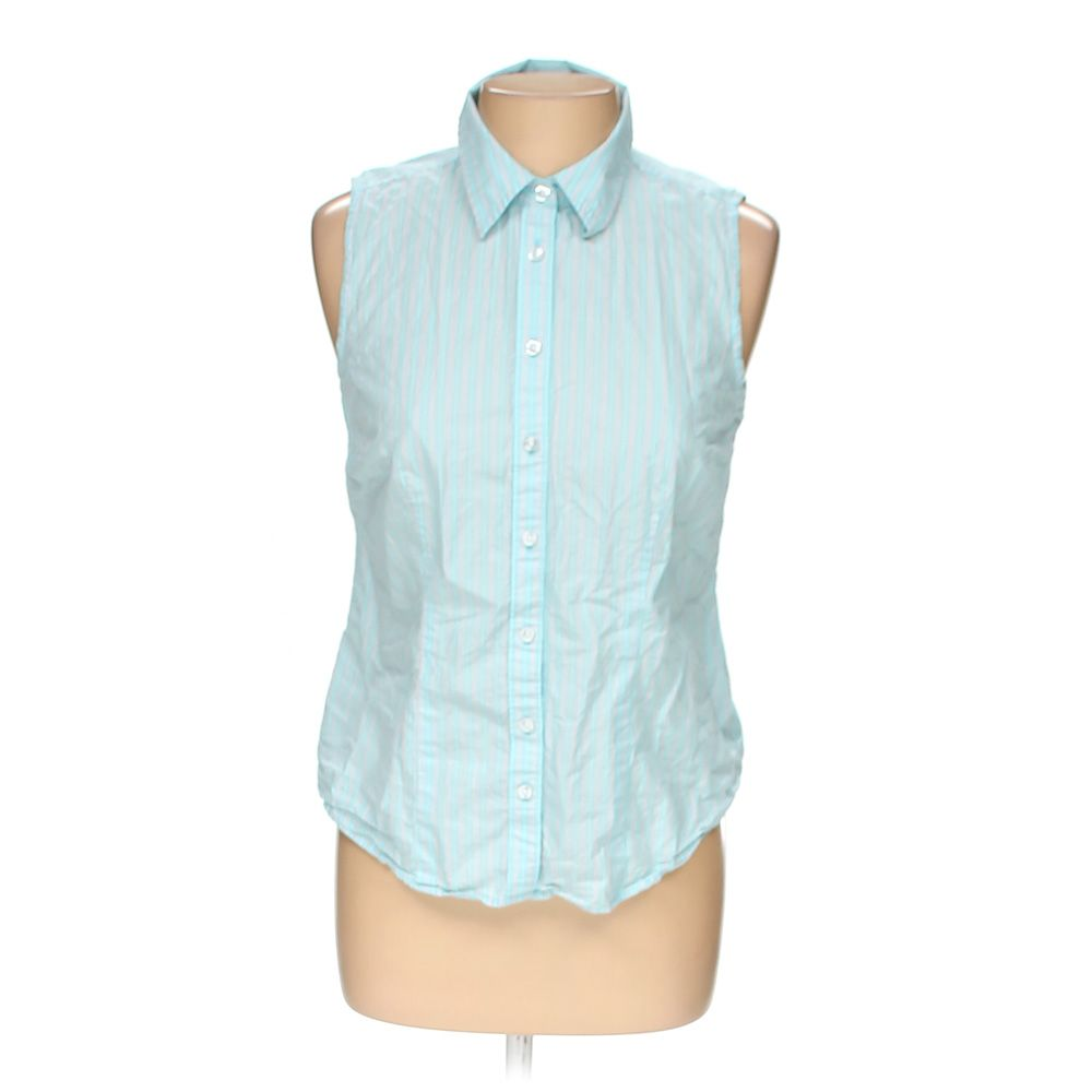 """""""""""Button-up Sleeveless Top, size M"""""""""""" 5725864392"""