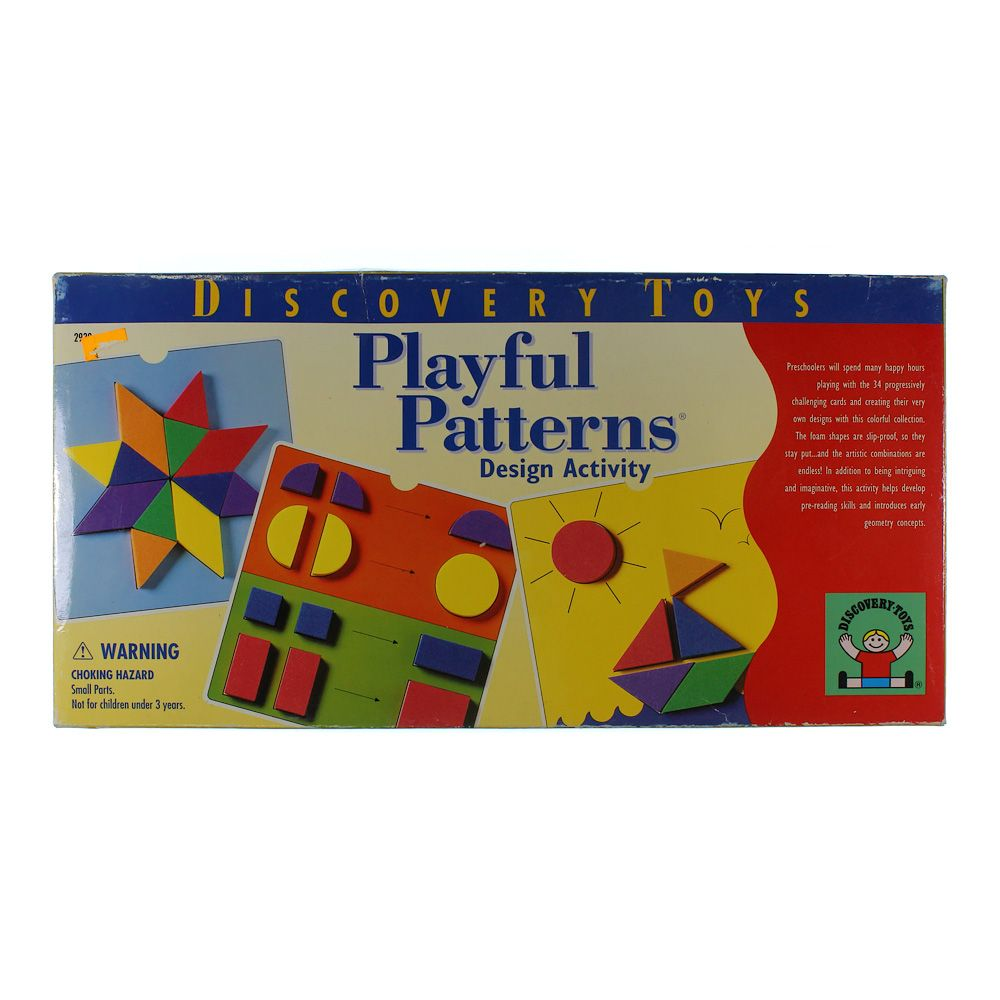 Discovery Toys Playful Patterns Design Activity 5728899958