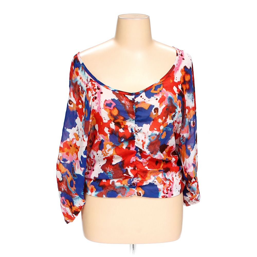 """""married to the mob Blouse, size XL"""""" 5749756848"