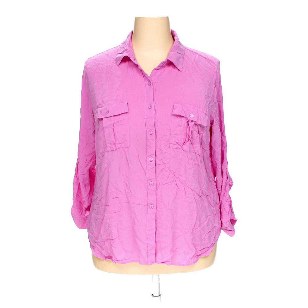 """Image of """"A.N.A. Button-up Shirt, size 2X"""""""
