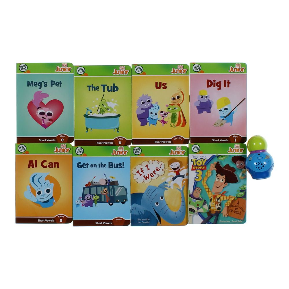Books: Leap Frog Books and Electronic Reader Set