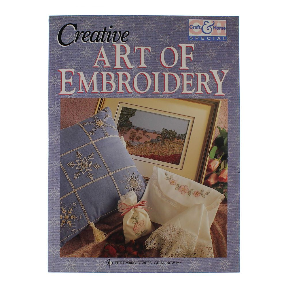 Book: Creative Art of Embroidery 5764654024