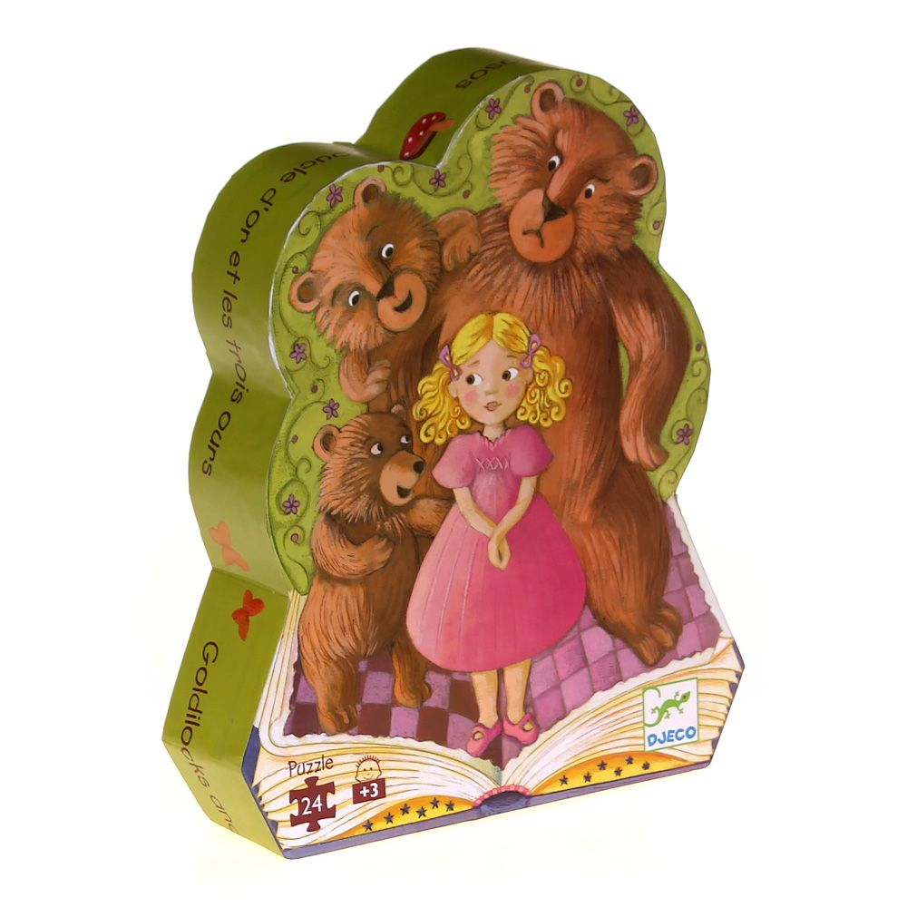 Image of Goldilocks And The Three Bears Puzzle