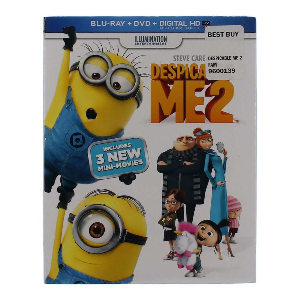 Movie: Despicable Me 2 [2 Discs] [Blu-ray/DVD/Digital] 5853706946