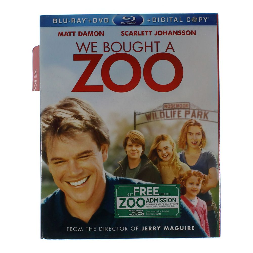 Movie: We Bought a Zoo [Blu-ray] 5871224223