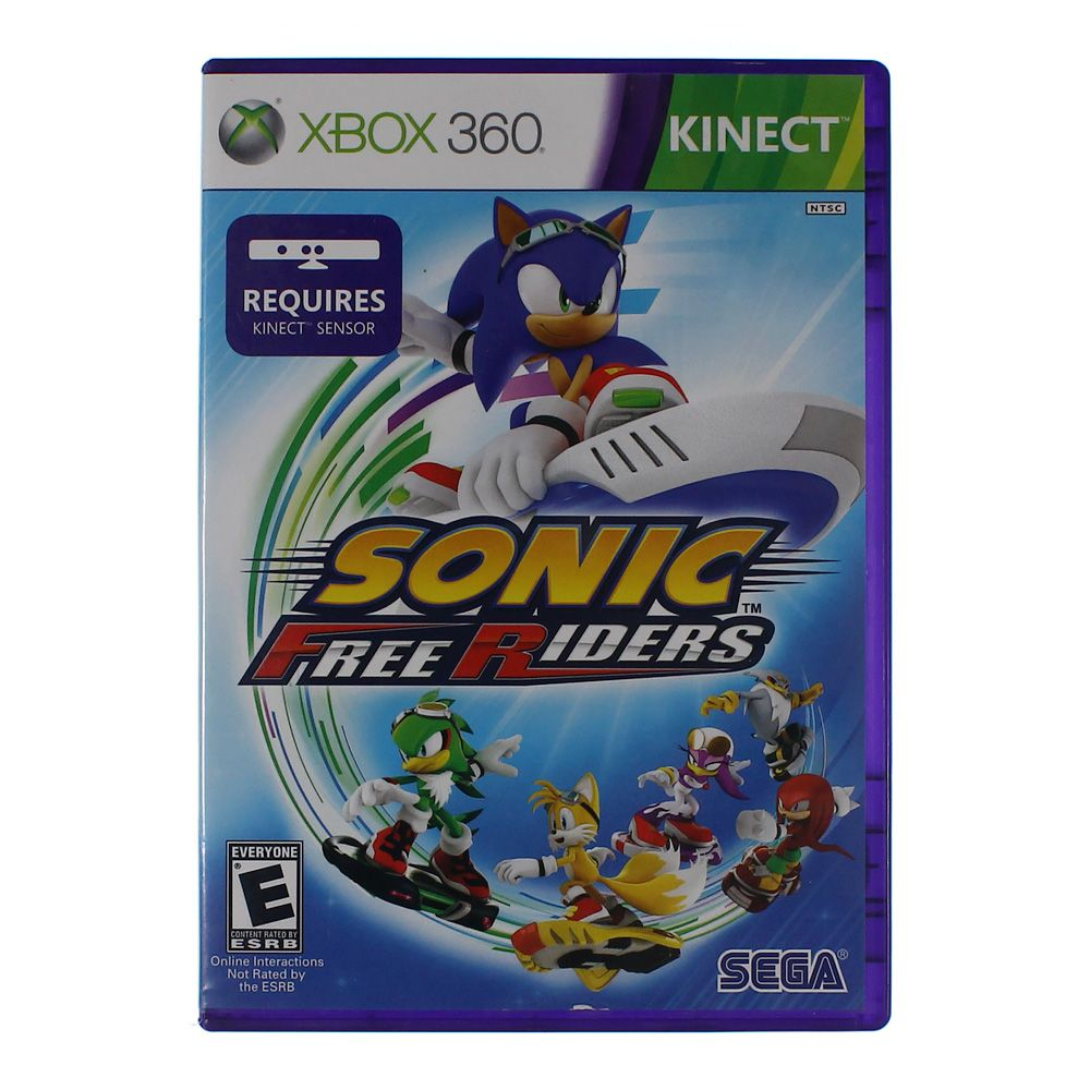 Video Game: Sonic Free Riders - Xbox 360 5875964463