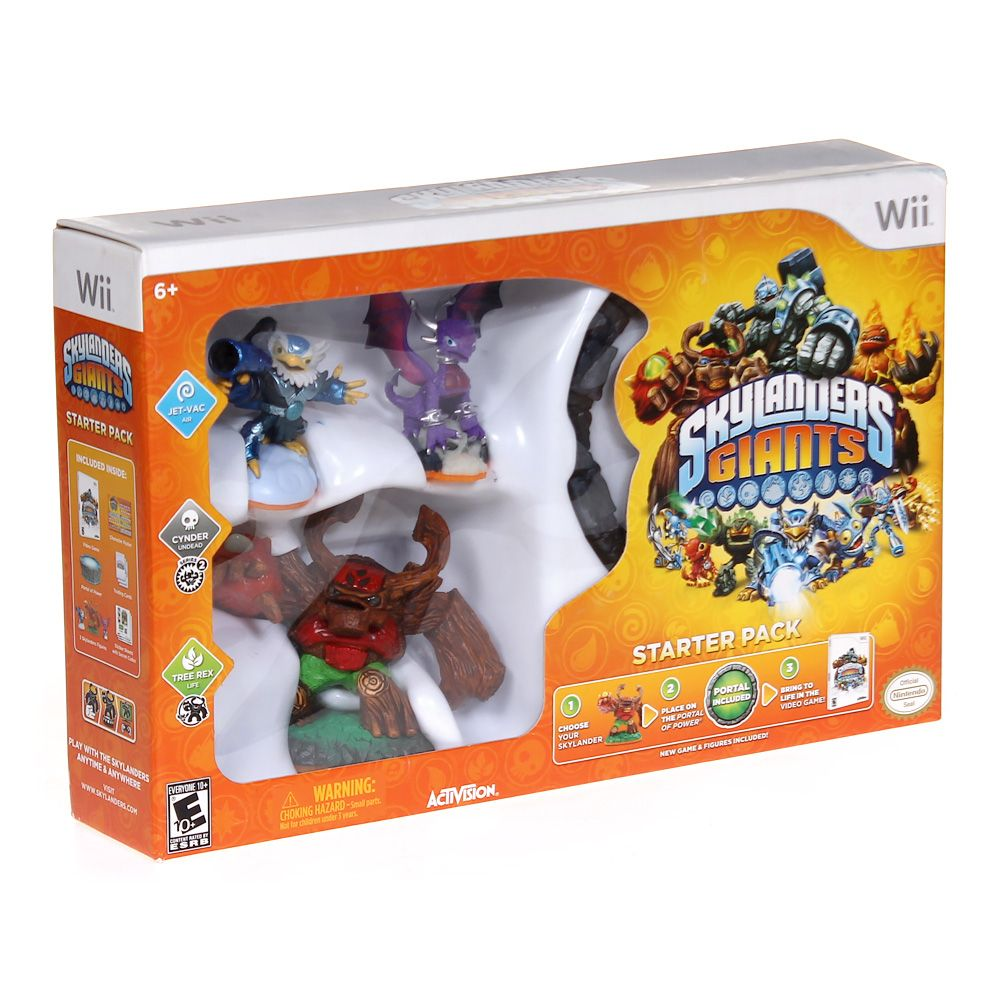 Video Game: Skylanders Giants Starter Pack 5898474171
