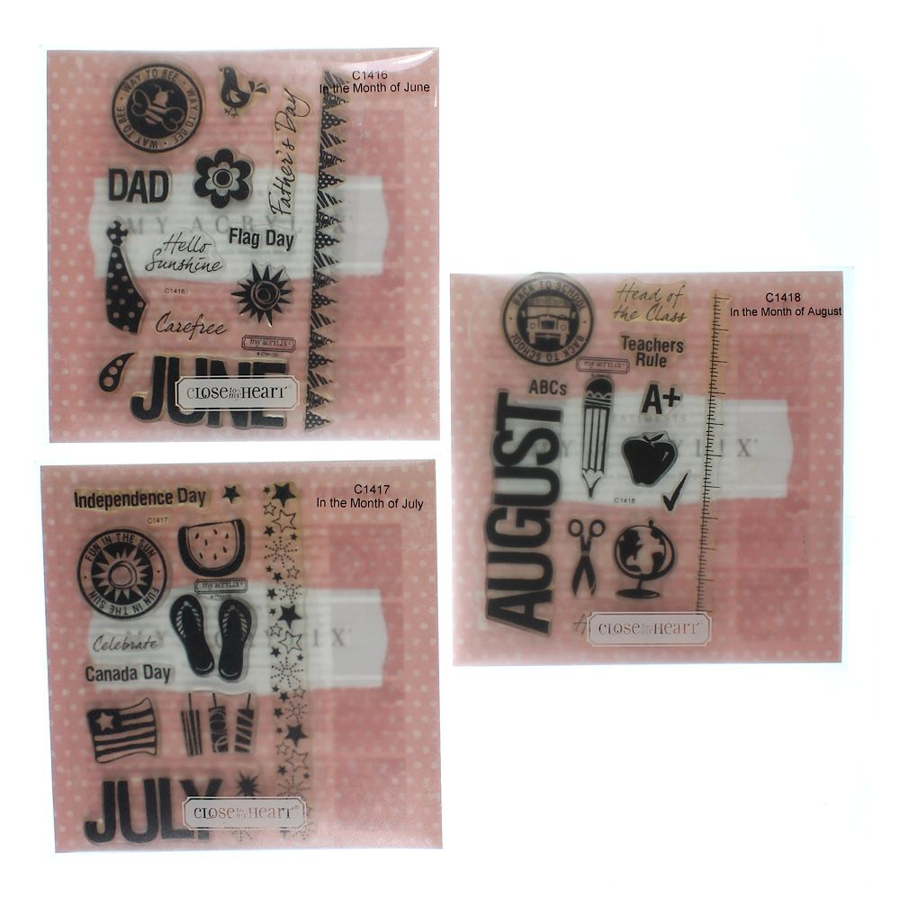 Image of Decorative Stamps Set