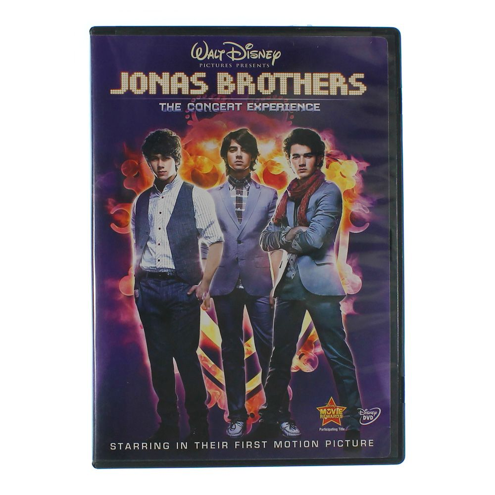 Movie: Jonas Brothers: The Concert Experience (Single-Disc Edition) 6080565165