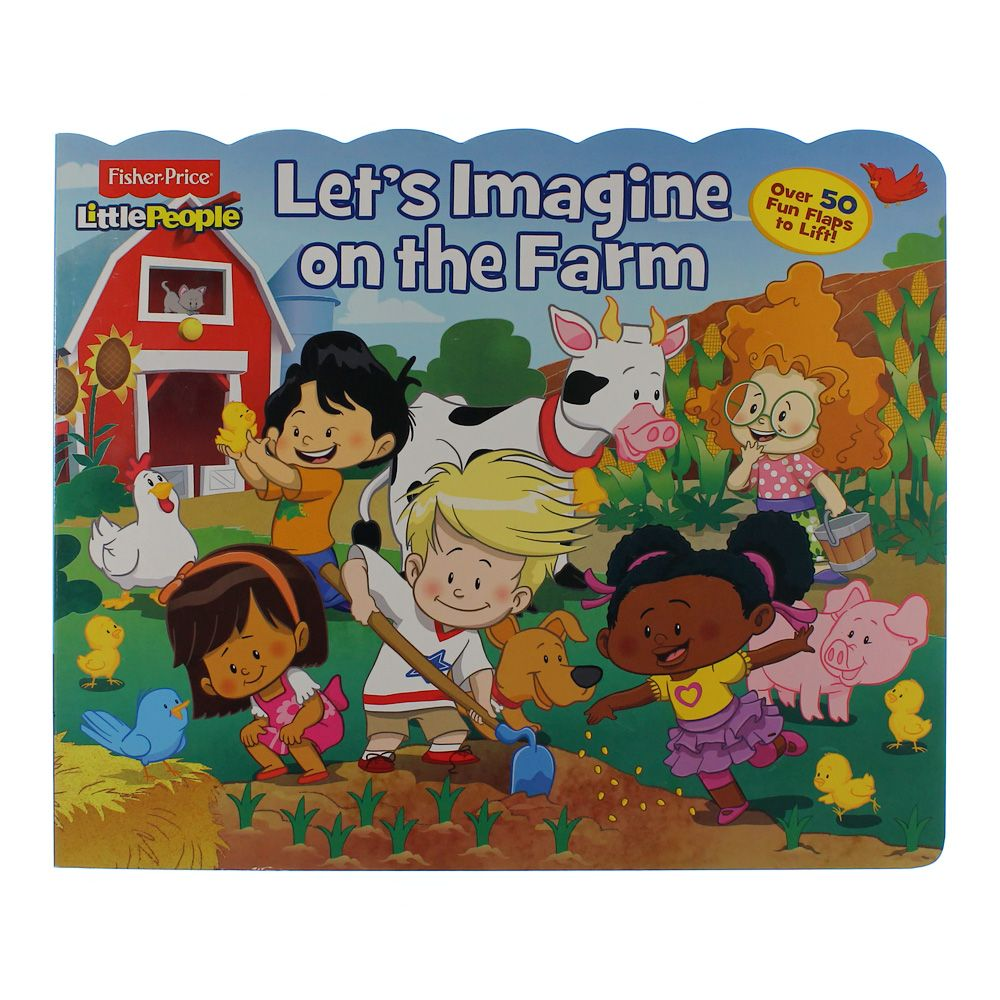 Book: Little People Let's Imagine on the Farm 6195759492
