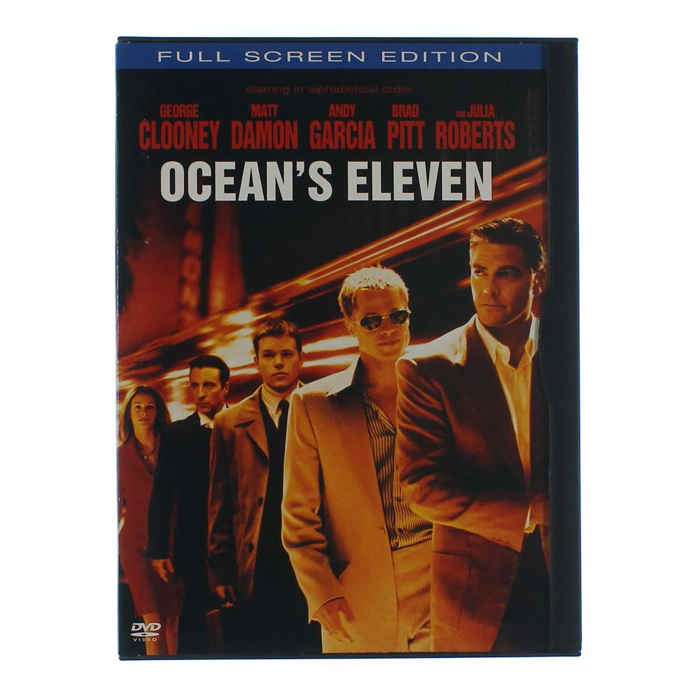 Movie: Ocean's Eleven (Full Screen Edition) 6198285788