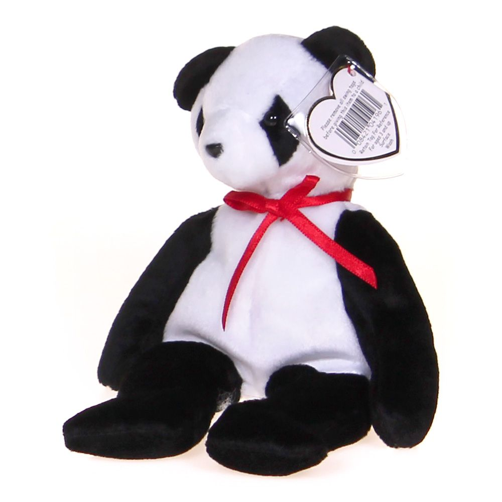 Image of Beanie Babies - Fortune the Bear Plush