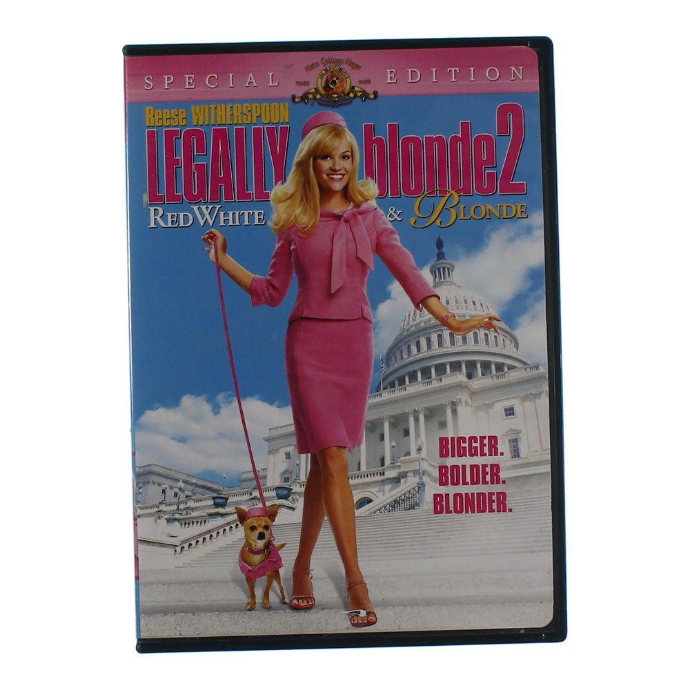 """""Movie: Legally Blonde 2 - Red, White & Blonde (Special Edition)"""""" 6339497037"