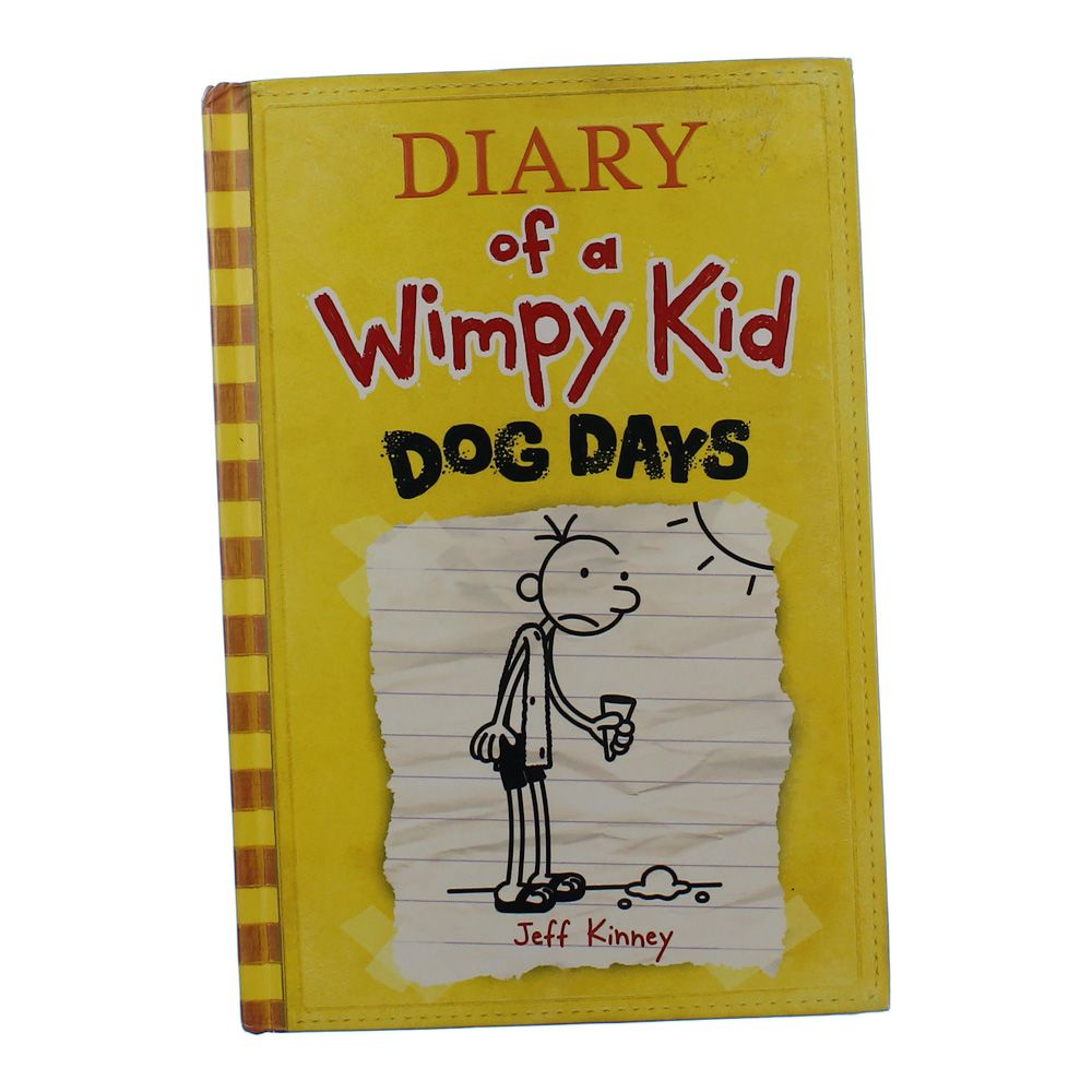 Book: Diary Of A Wimpy Kid Dog Days 6352954053