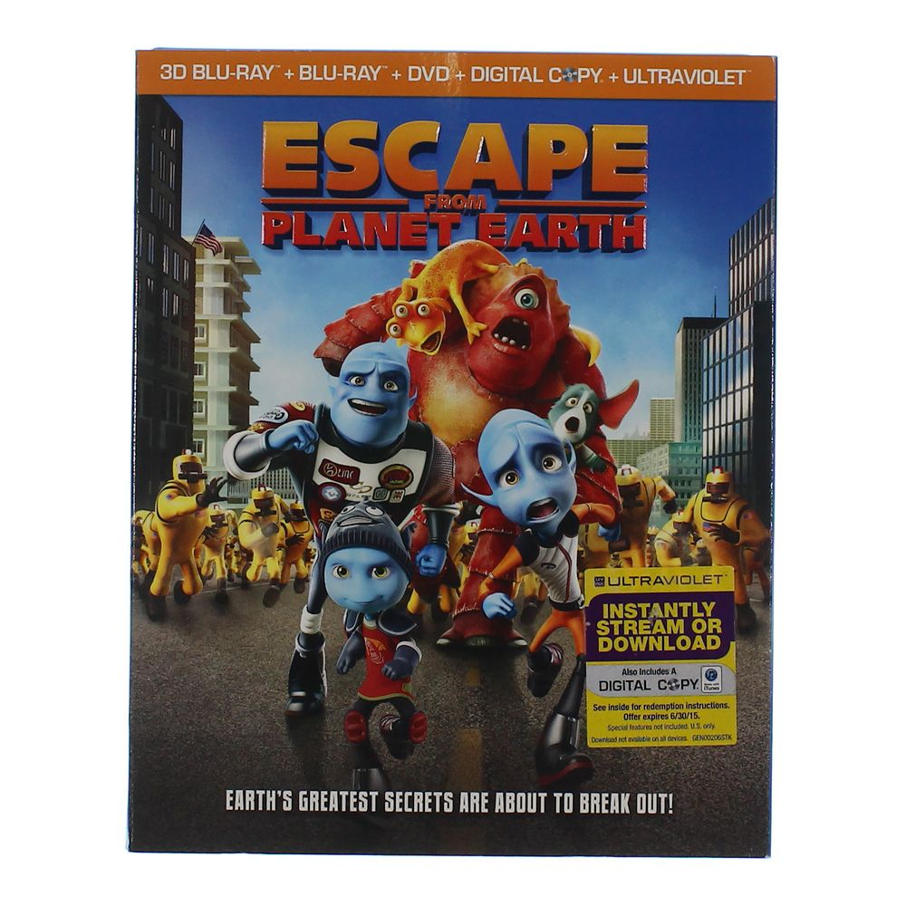 Movie: Escape From Planet Earth 6418474842