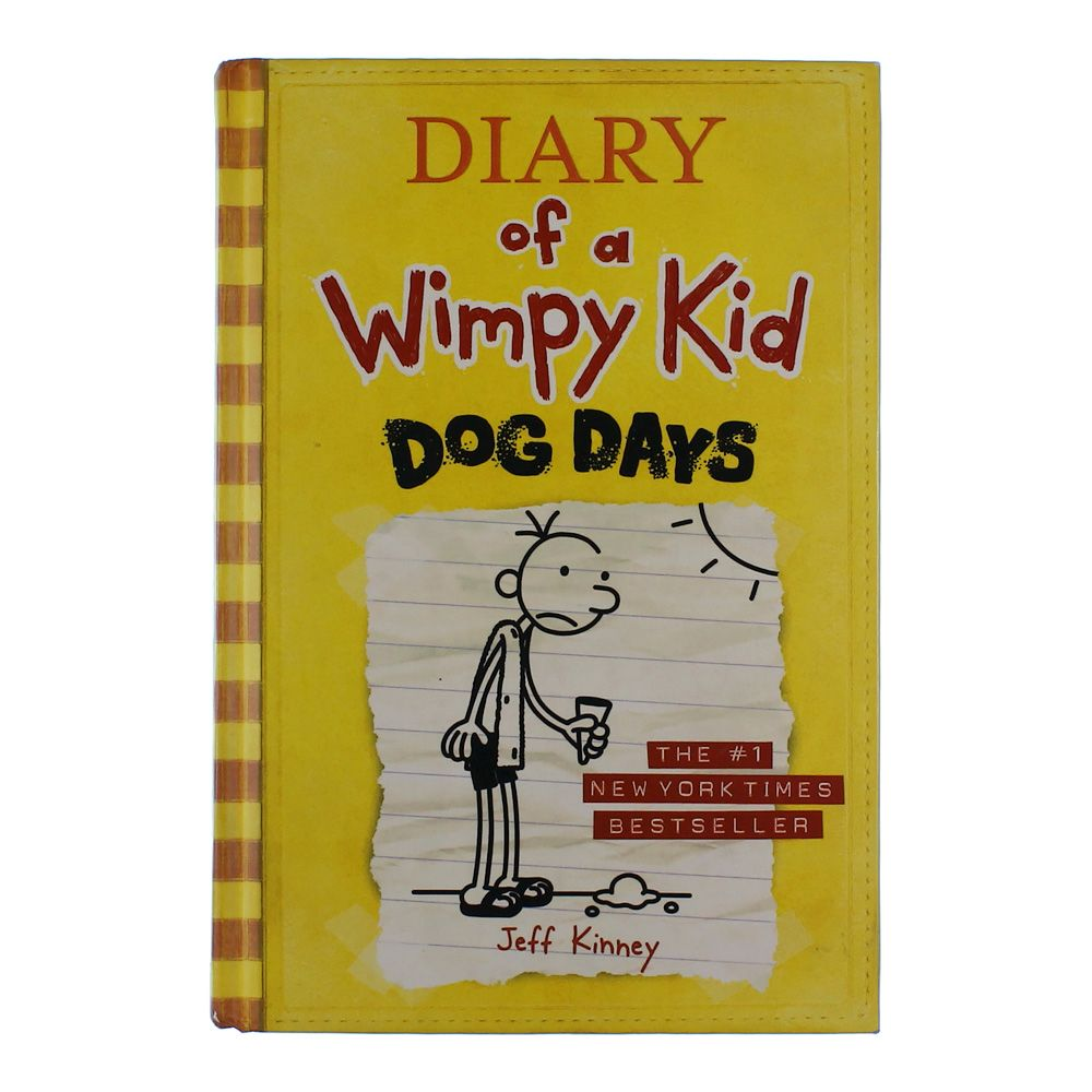 Book: Diary of a Wimpy Kid - Dog Days 6456095141