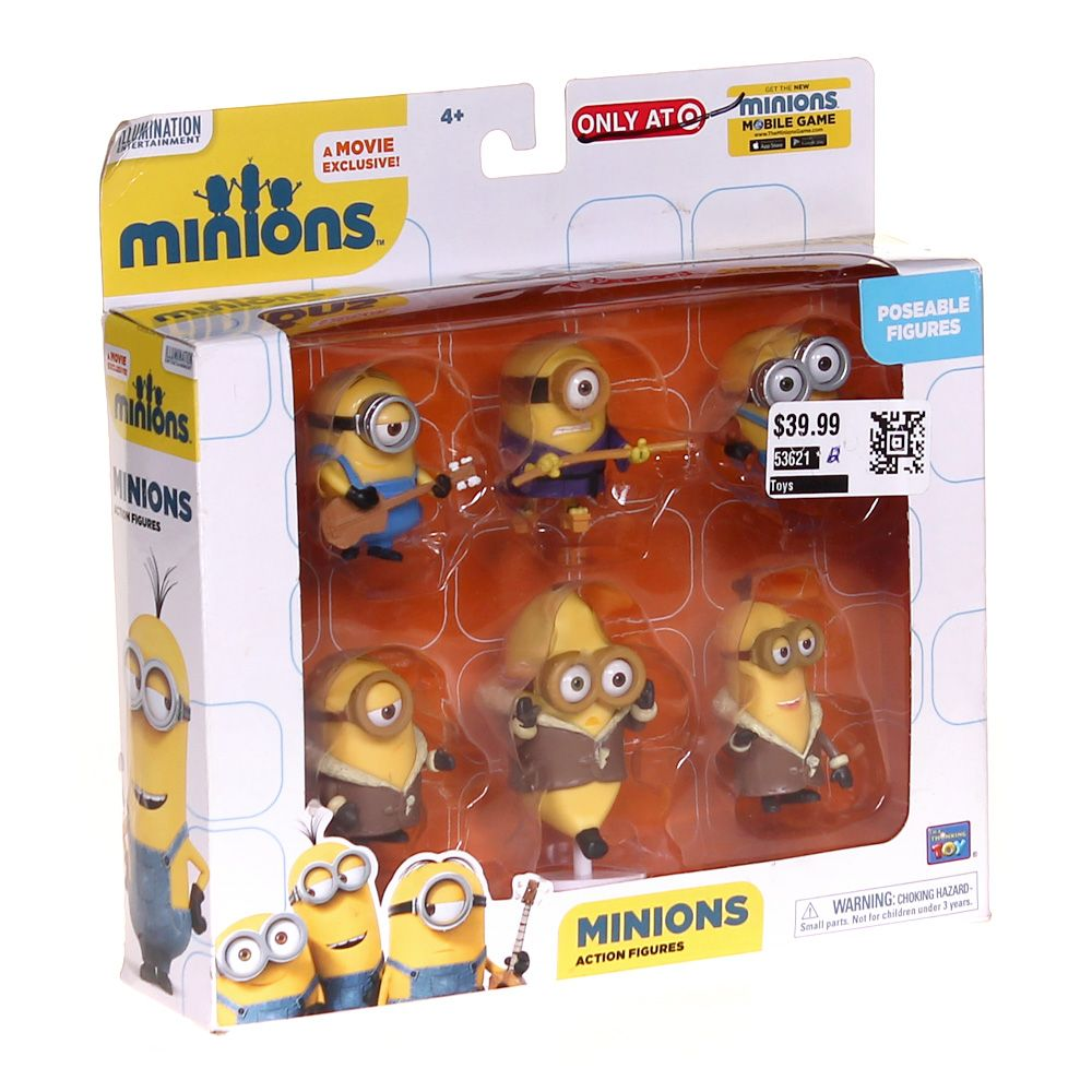 Minions Action Figures 6645015580
