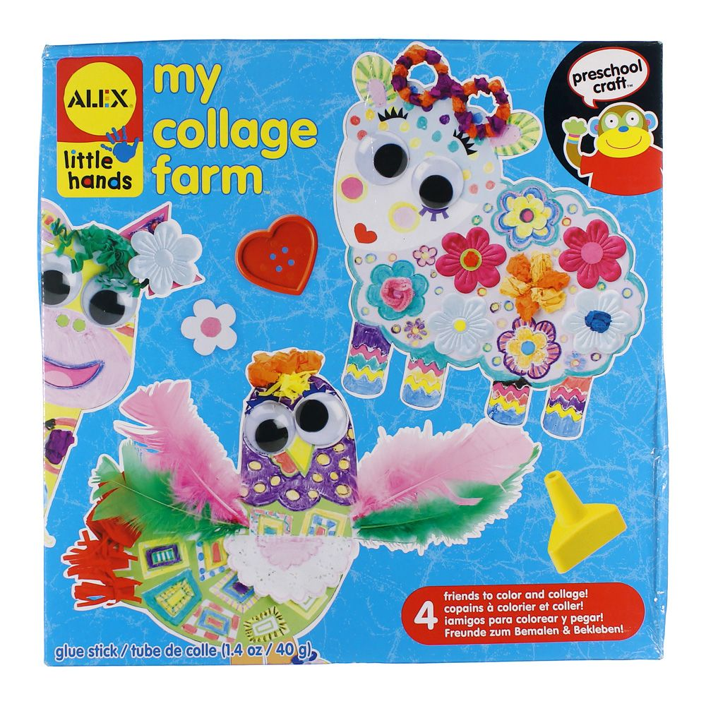 ALEX Toys Little Hands My Collage Farm [Standard Packaging] 6688068495