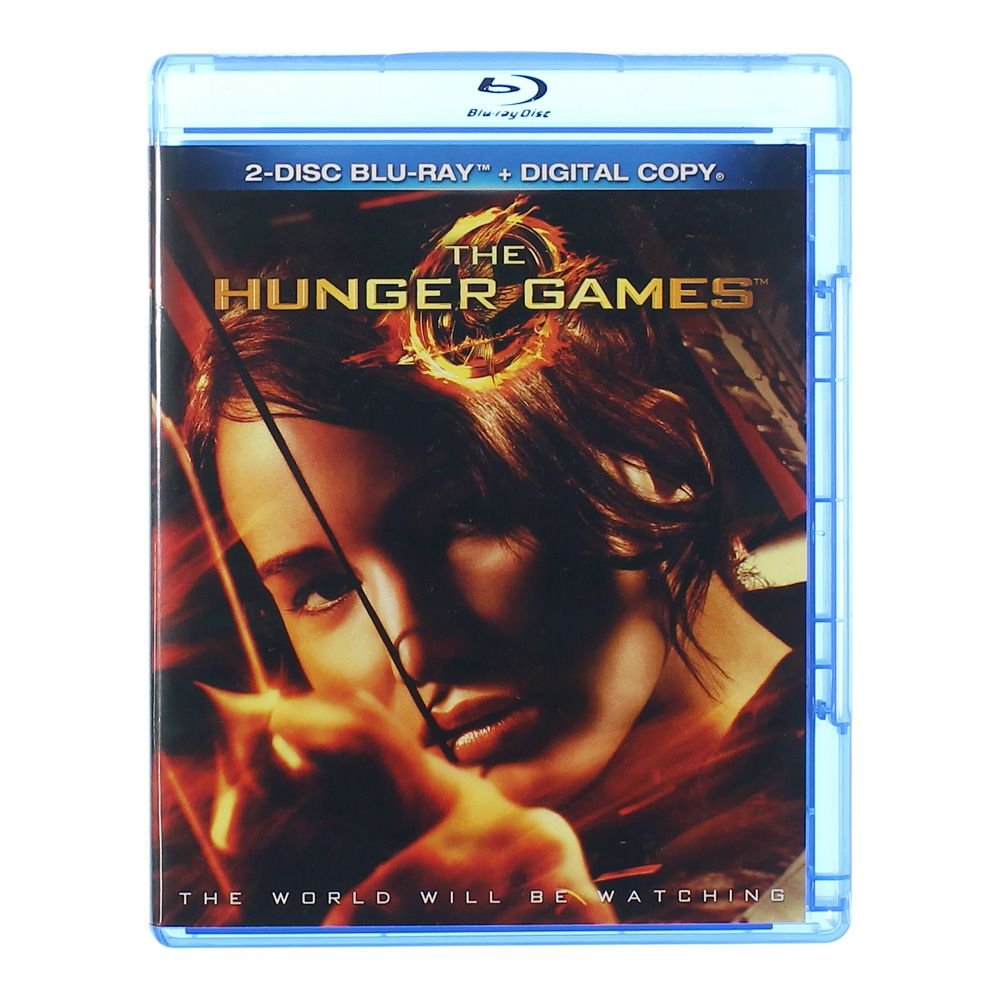Movie: The Hunger Games (Blu-ray + Digital Copy) 6727074324