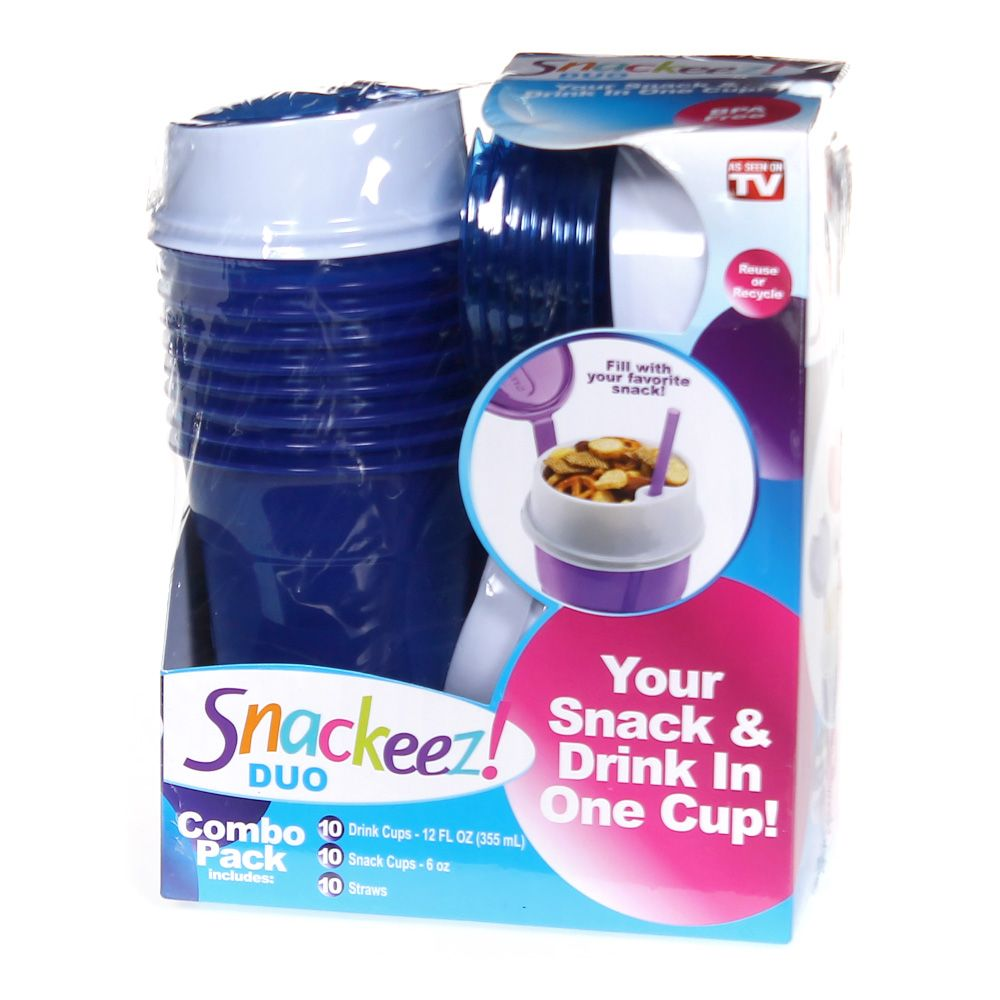 Snack & Drink Cup Combo Pack 6735267835