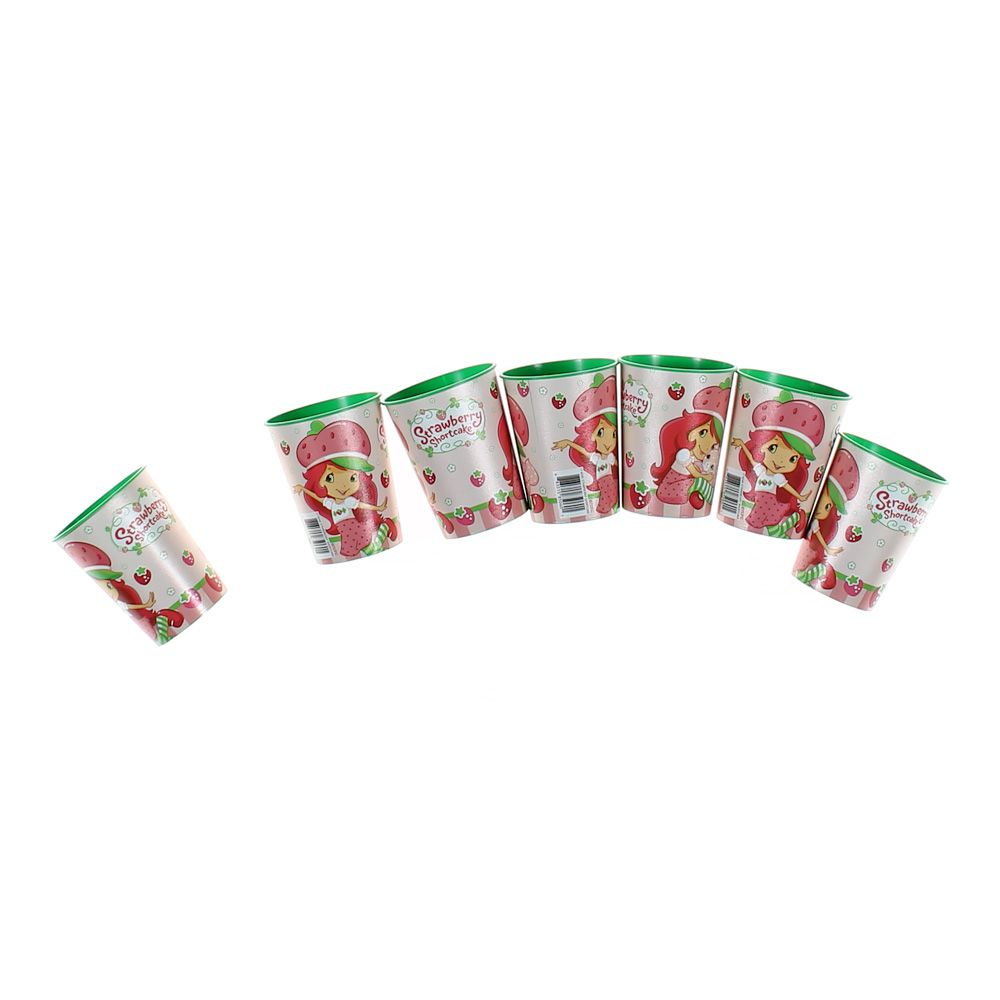Set of 7 Strawberry Shortcake Cups 6760604904