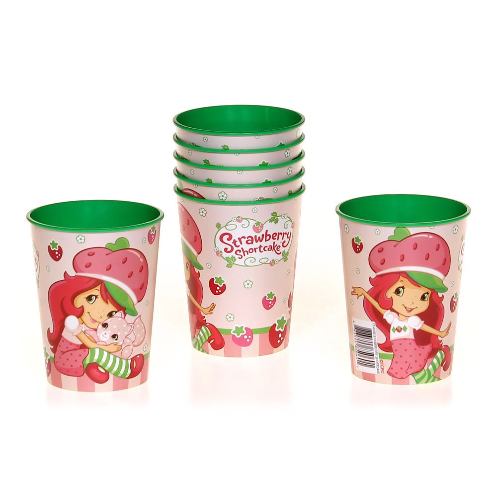 Set of 7 Strawberry Shortcake Cups 6761914337