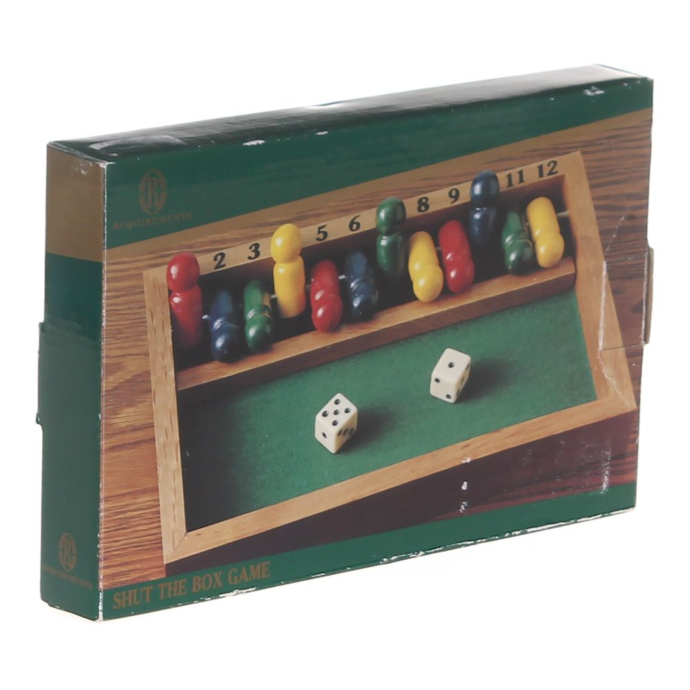 Game: Shut The Box Game 6777045329