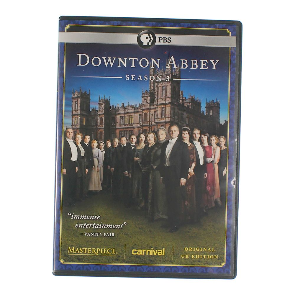 TV-series: Masterpiece Classic: Downton Abbey Season 3 6785295211