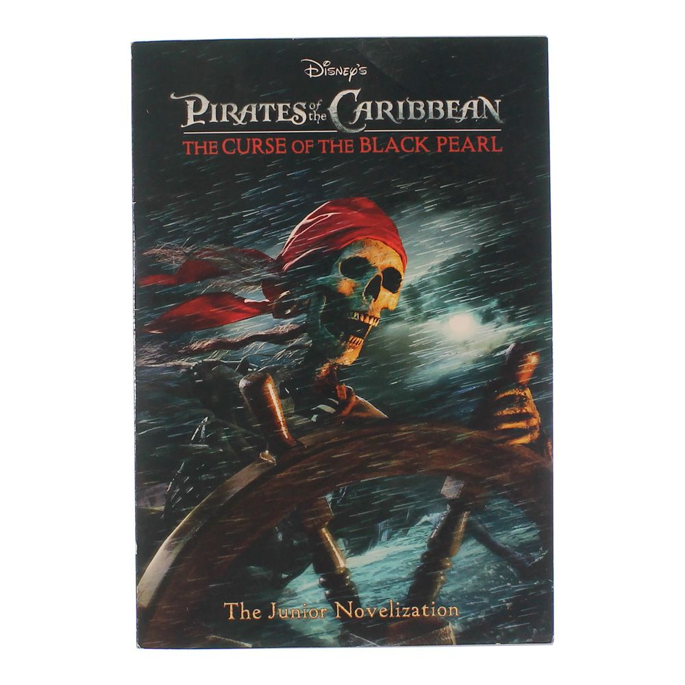 Book: Pirates of the Caribbean The Curse of the Black Pearl 6787905096