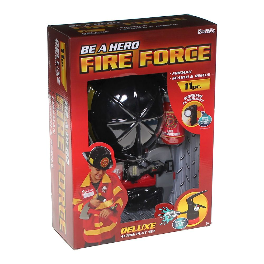 Toy Action Play Fire Force Set 6789788147