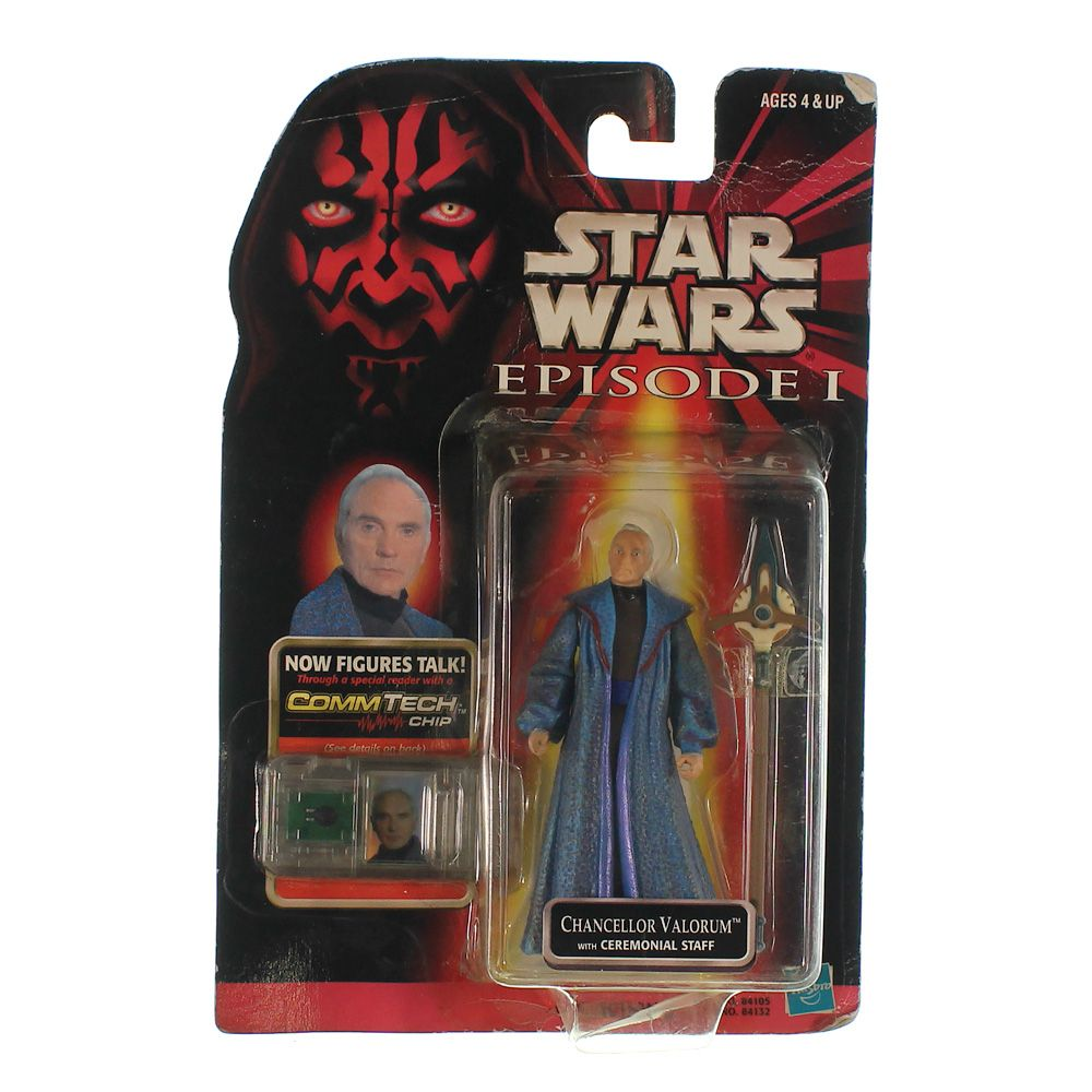 """""Star Wars Episode I: The Phantom Menace, Chancellor Valorum Action Figure, 3.75 Inches"""""" 6801475697"