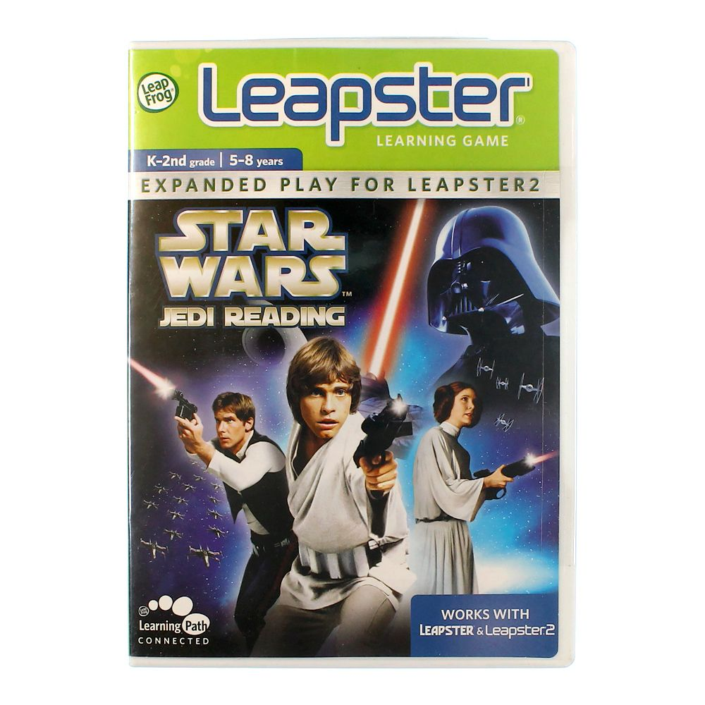 Image of Leapster Game: Star Wars Jedi Reading