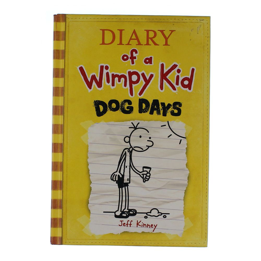 Book: Diary Of A Wimpy Kid Dog Days 6875330447