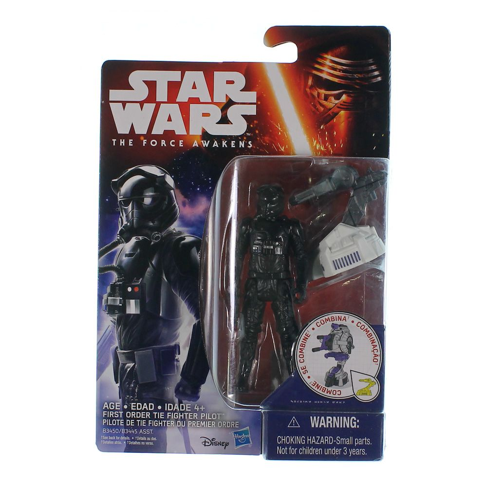 Star Wars The Force Awakens 3.75-Inch Figure Space Mission First Order TIE Fighter Pilot 6891809538
