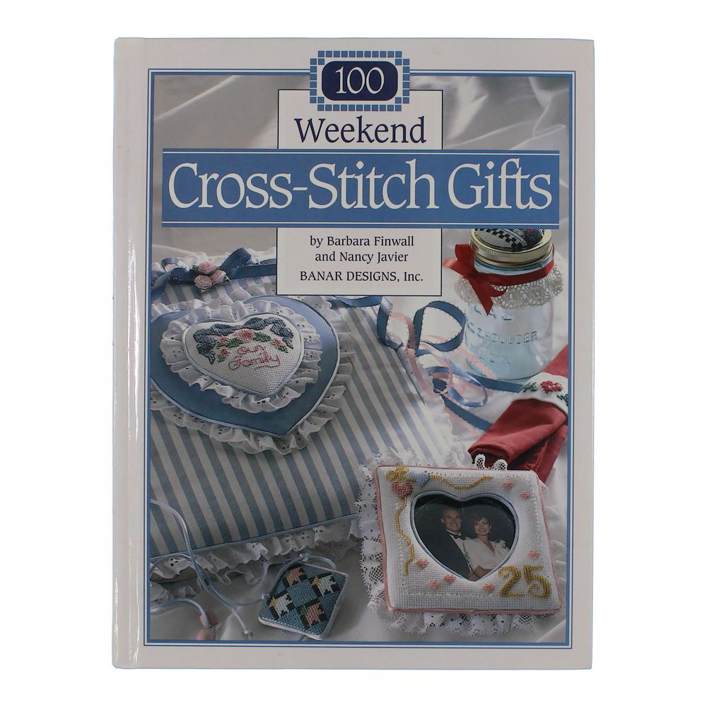 Image of 100 Weekend Cross-Stitch Gifts
