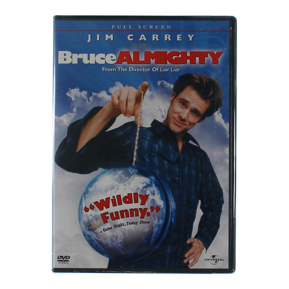 Movie: Bruce Almighty (Full Screen Edition) 6894594763