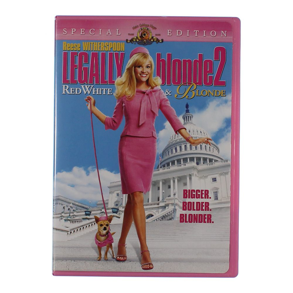 """""Movie: Legally Blonde 2 - Red, White & Blonde"""""" 6896544038"