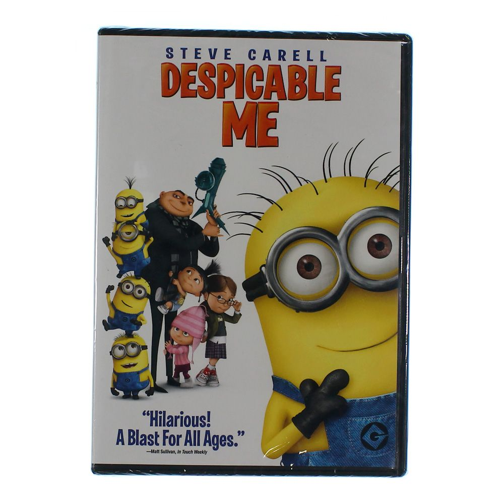 Movie: Despicable Me (Blu-ray Disc) (3 Disc) (Eng/Spa/Fre) 2010 6899615167
