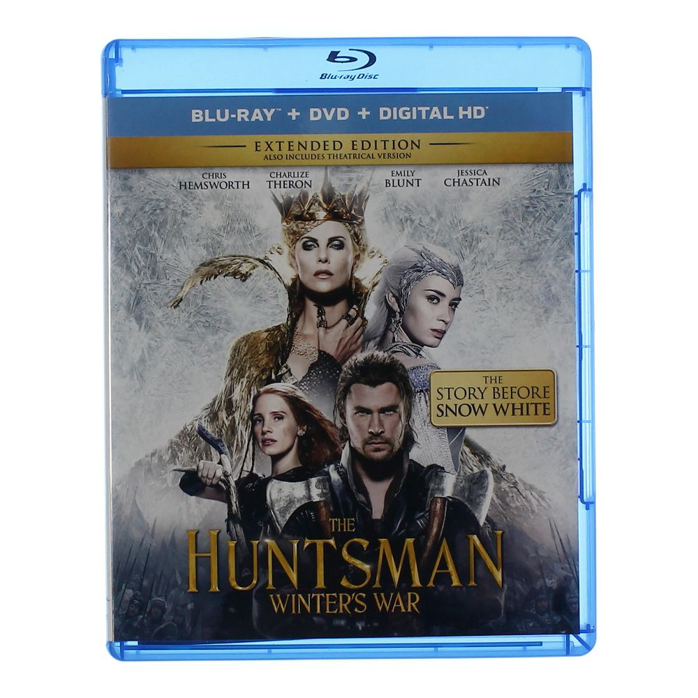 Movie: The Huntsman: Winter's War (Blu-ray + DVD + Digital HD) 6914686551