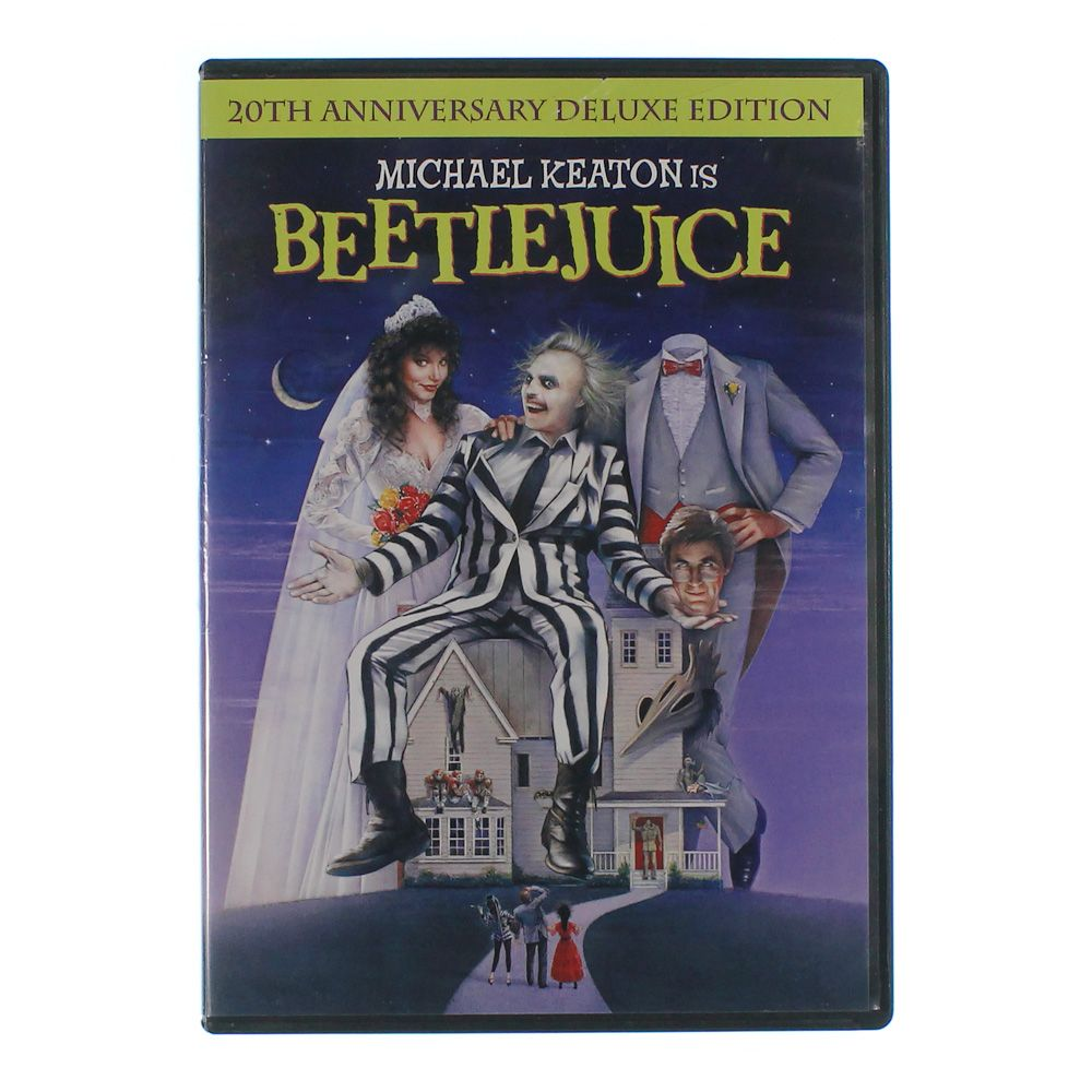 Movie: Beetlejuice [20th Anniversary Edition] [Deluxe Edition] [DVD] [Eng/Fre/Spa] [1988] 6920654737