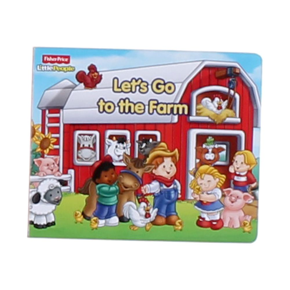 Book: Let's Go To The Farm 6999316457