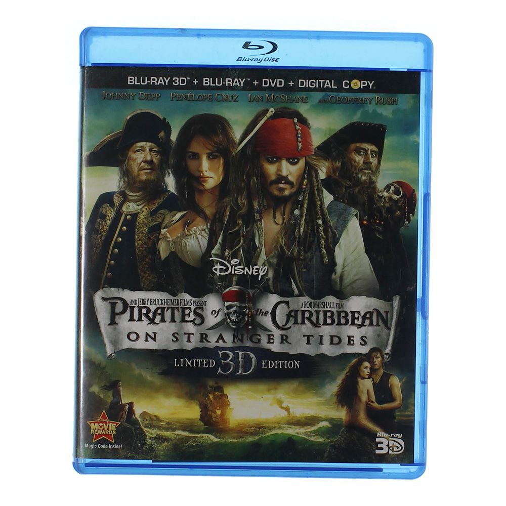 DVD Blu-Ray: Pirates of the Caribbean: On Stranger Tides 7000145448