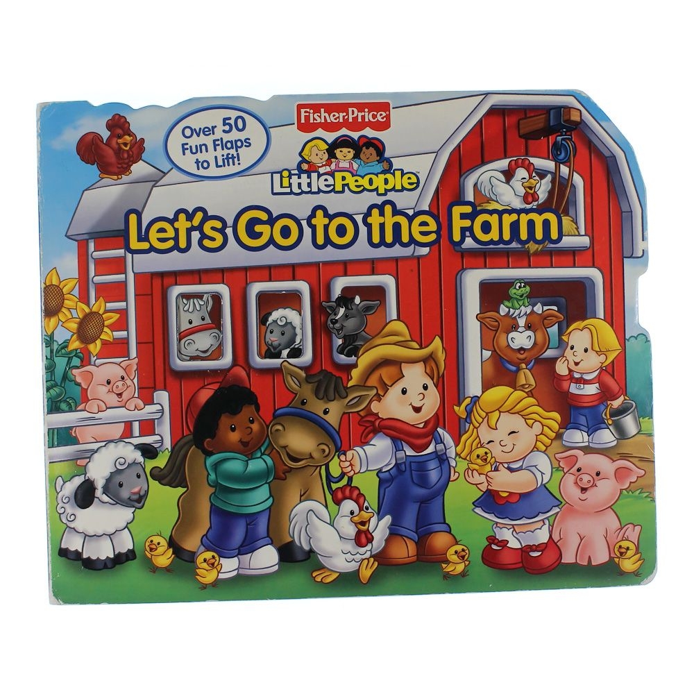 Book: Let's Go To The Farm 7030082486