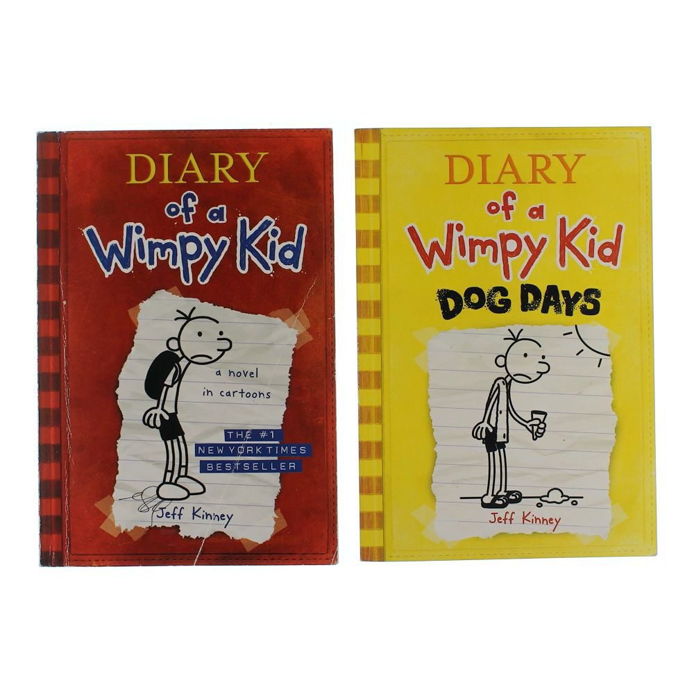 Book Set: Diary Of A Wimpy Kid 7059295153