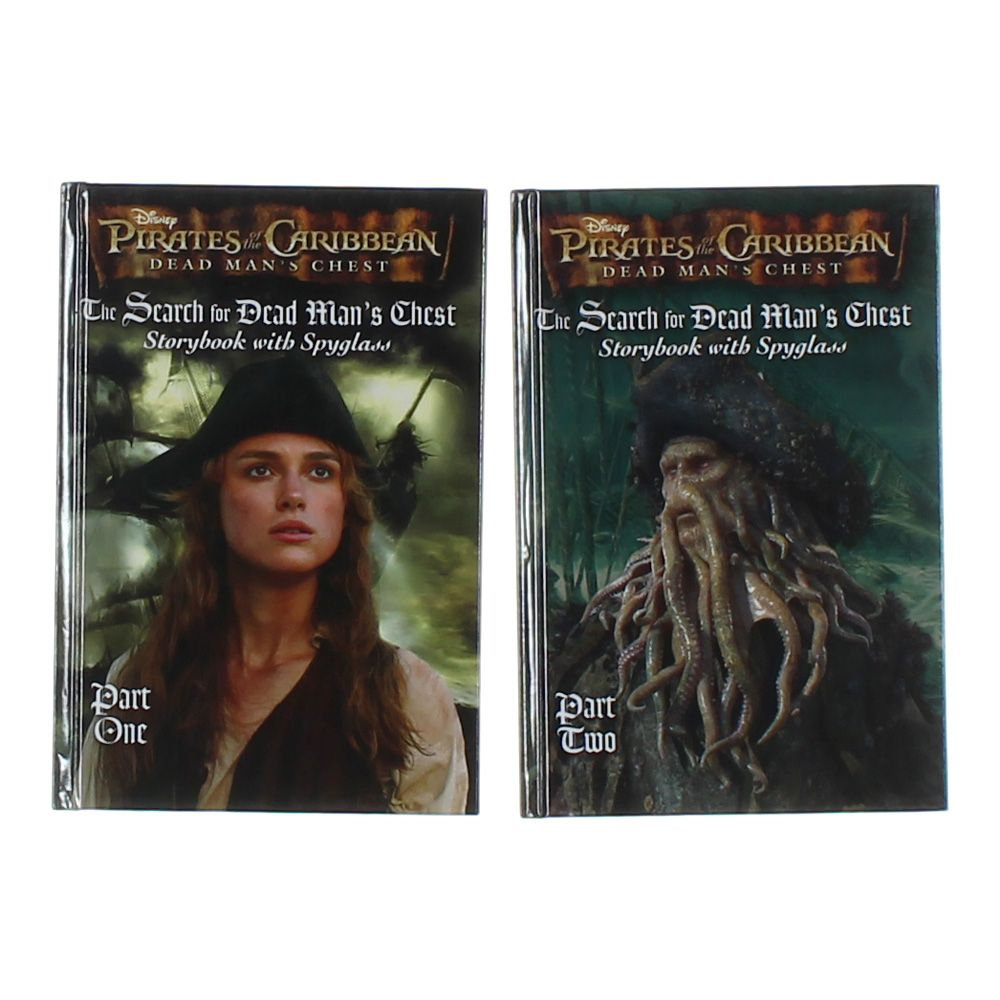 Pirates of the Caribbean Dead Man's Chest Book Set 7080734650