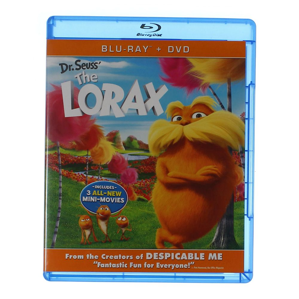 Movie: Dr. Seuss' The Lorax (Blu-ray + DVD) 7086904006