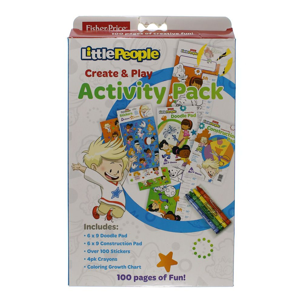 Little People Create & Play Activity Pack 7089104516