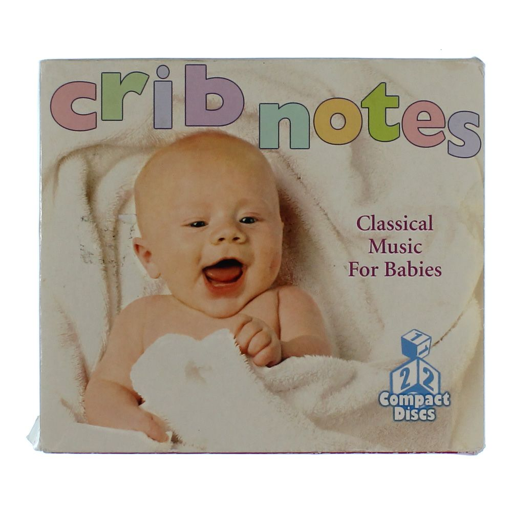 Image of CD Set: Crib Notes Classical Music For Babies