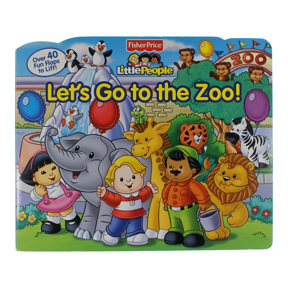 Book: Let's Go To the Zoo! 7089811462