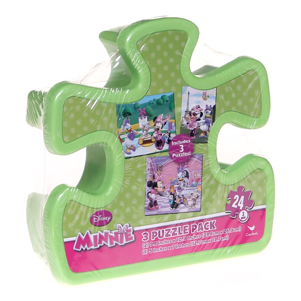 Minnie 3 Puzzle Pack Puzzle 7159803743